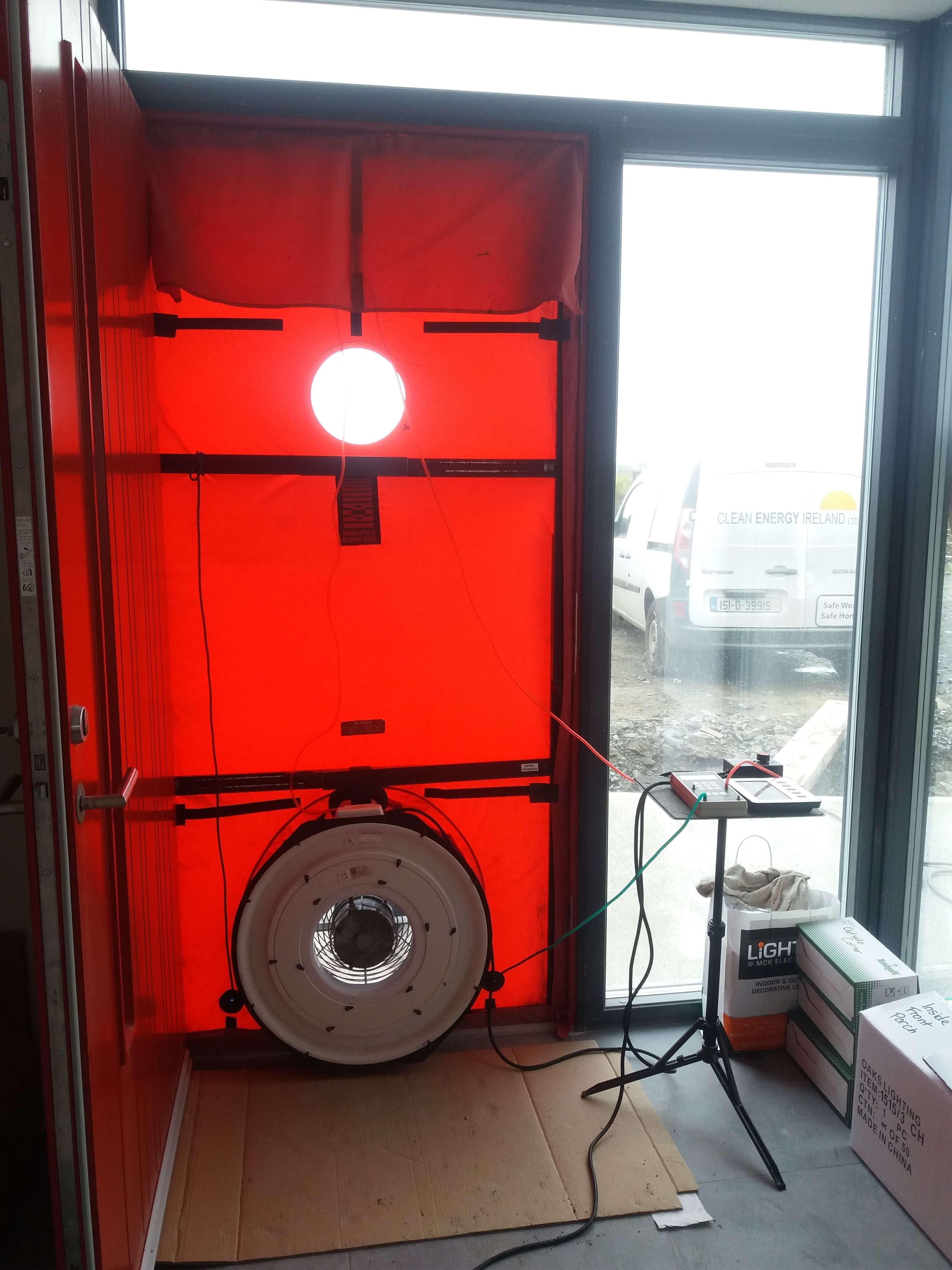 Airtightness testing