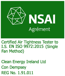 airtightness testing, air test