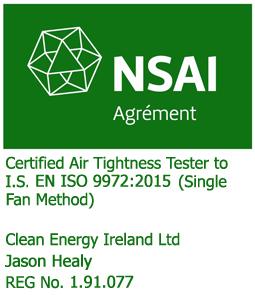 airtightness tester jason healy